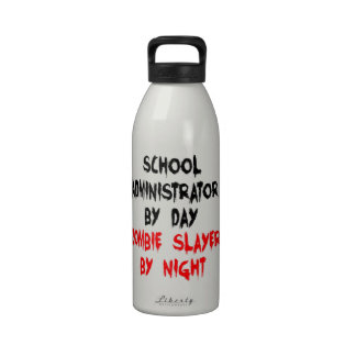 Zombie Slayer School Administrator Drinking Bottles