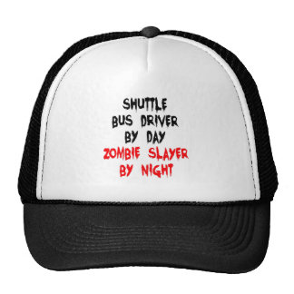 Zombie Slayer Shuttle Bus Driver Mesh Hats