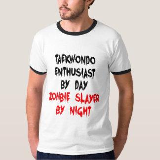 Zombie Slayer Taekwondo Enthusiast T-Shirt