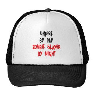 Zombie Slayer Umpire Trucker Hat