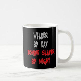 Zombie Slayer Welder Coffee Mug