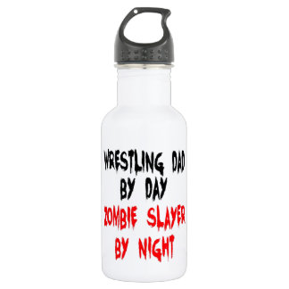 Zombie Slayer Wrestling Dad 532 Ml Water Bottle