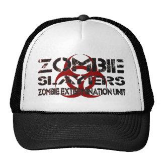 Zombie Slayers: Zombie Extermination Unit Trucker Hat