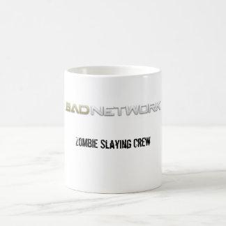 Zombie slaying crew mug