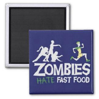 Zombie Square Magnet