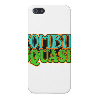 Zombie Squash TM logo iPhone 5 Covers