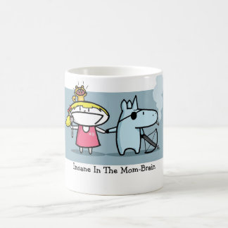 Zombie Squirrel Apocalypse Mom-Brain Mug