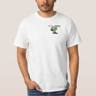 Zombie Stache - Grey Stache T-Shirt