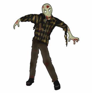 Zombie Standing Photo Sculpture