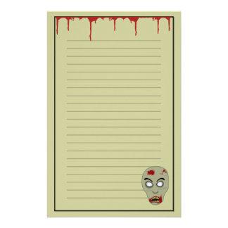 Zombie Stationery