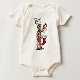 Zombie Stocking Baby Bodysuit