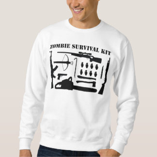 Zombie Survival Kit Sweatshirt