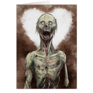 Zombie Sweetheart Card
