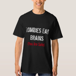 Zombie T-Shirt | Halloween | Zombies Eat Brains