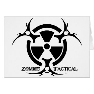 Zombie Tactical Apparel Card