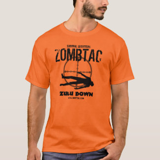"Zombie Tactical ""Zulu Down!"" T-Shirt"