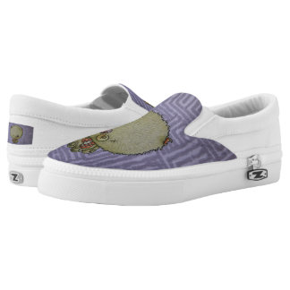 Zombie Ted Slip-On Sneakers