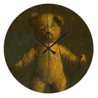 Zombie Teddy Clock