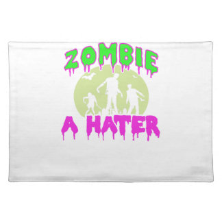Zombie tee placemat