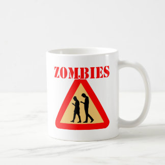 Zombie Teens With Cell Phones Coffee Mug