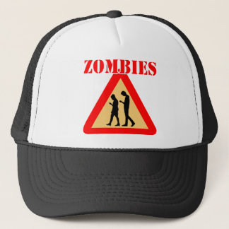 Zombie Teens With Cell Phones Trucker Hat