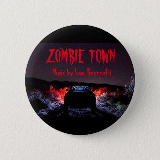 Zombie Town 2 Inch Round Button