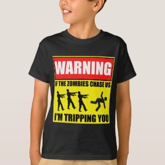 Zombie Trip Warning Sign.png T-Shirt