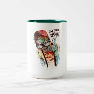 ZOMBIE Two-Tone COFFEE MUG