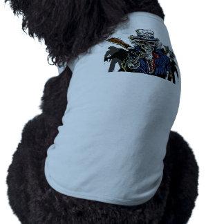 Zombie Uncle Sam Dog Tee Shirt