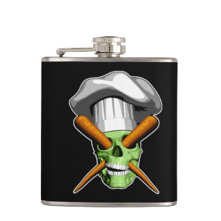 Zombie Vegan Flask