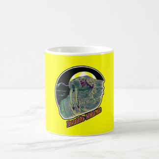 Zombie Walrus-On Yellow Coffee Mug