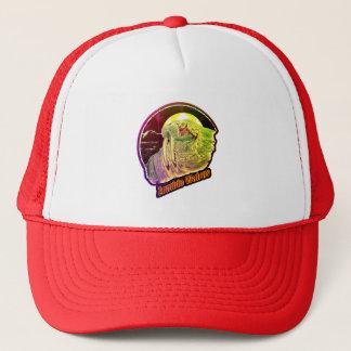 Zombie Walrus-Original Distressed Look Multi-Color Trucker Hat