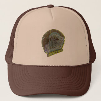 Zombie Walrus - Original Lime Green Trucker Hat