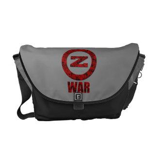 Zombie War Messenger Bag