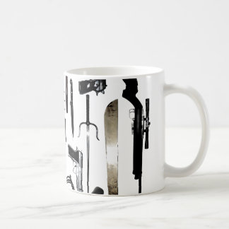 Zombie Weapons Coffee Mug