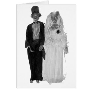 Zombie Wedding Card