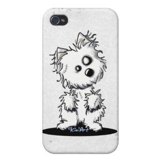 Zombie Westie Speck Case iPhone 4 Cases