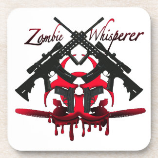 Zombie Whisperer Drink Coasters