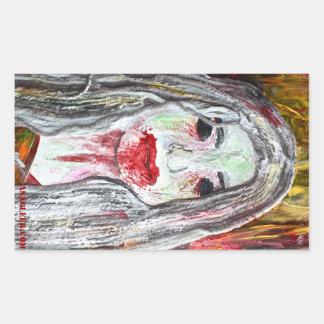 Zombie Woman Sticker