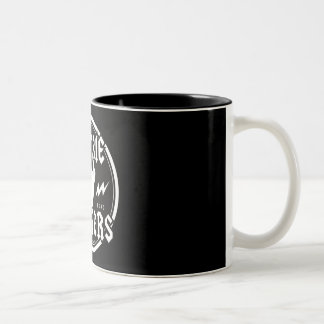 ZOMBIE ZAPPERS Two-Tone COFFEE MUG