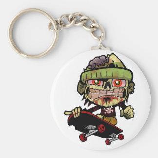 Zombie Zim Keychain