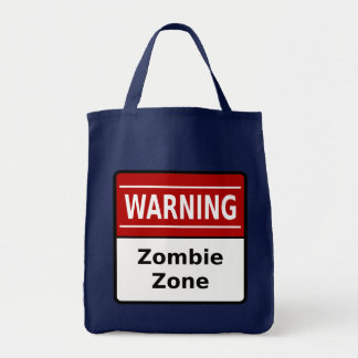 Zombie Zone Tote Bag