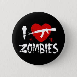 Zombies 2 Inch Round Button