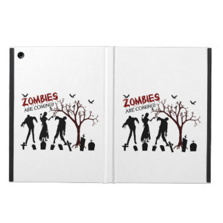 Zombies Are Coming iPad Air Case