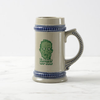 Zombies Are Cute Beer Stein