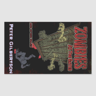 Zombies at the Gates stickers
