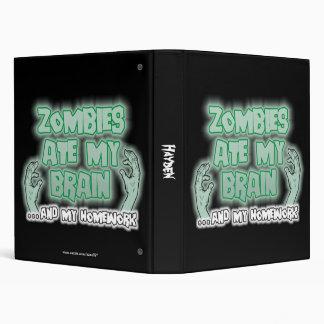 Zombies Ate My Brain Binders
