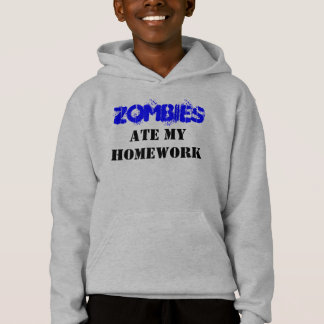 """Zombies Ate My Homework"" Living Dead - Customized"