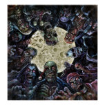 Zombies Attack (Zombie Horde) Poster