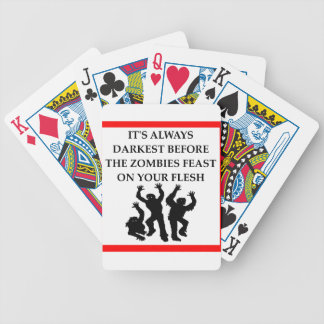 ZOMBIES BICYCLE PLAYING CARDS